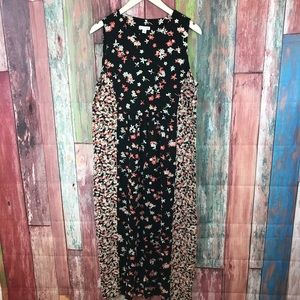 J.Jill beautiful peach floral dress